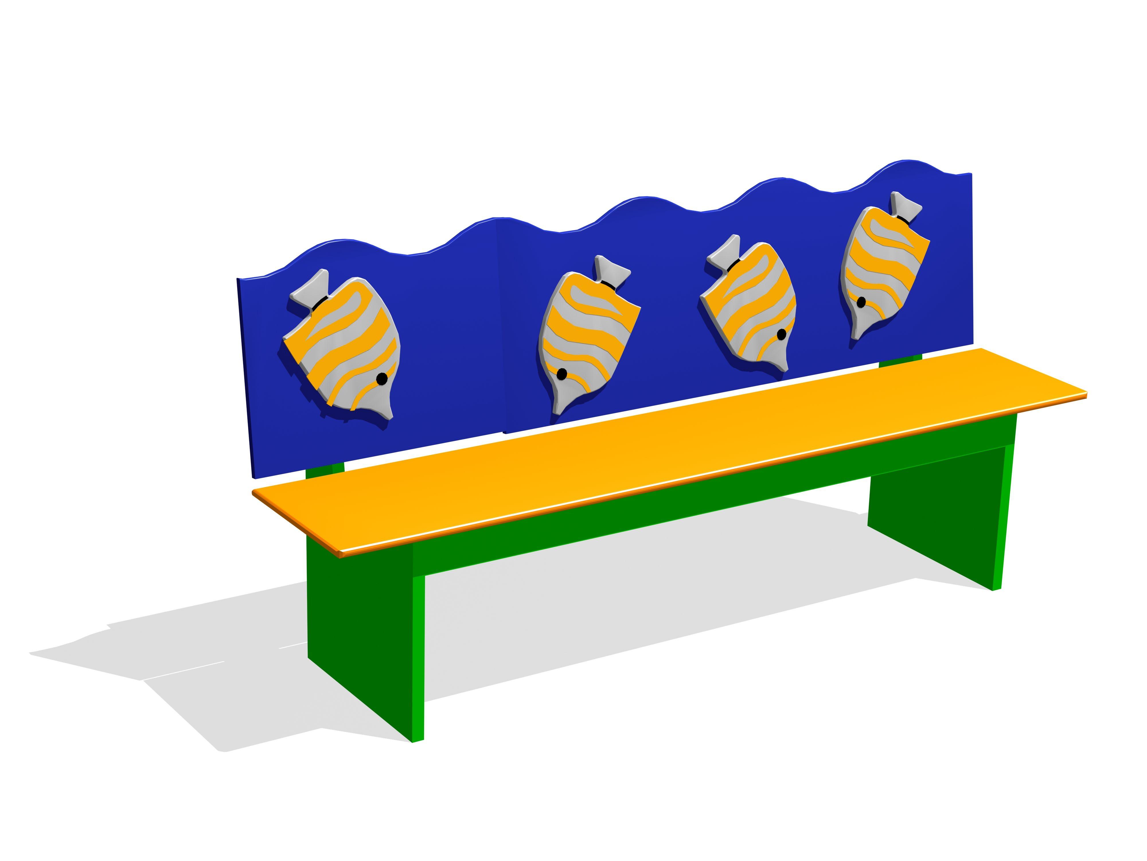 Детские скамейки для детского сада своими руками